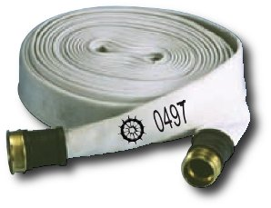 fire hose MED coupled white